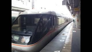 JR381系(特急しなの9号長野行き)米原駅を発車