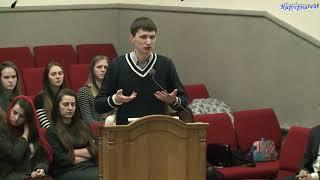 Характер христианина – Евгений Цимура, проповедь, Карьерная 44