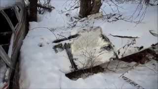 Plane Crash Site - Stoppel Point, Catskills, New York