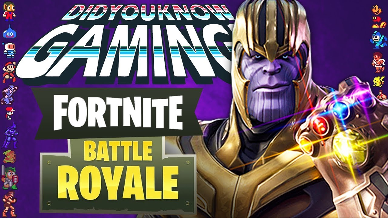 The History of Fortnite Battle Royale - Did You Know Gaming? Feat. Remix