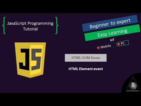 HTML DOM Event - HTML Element Event