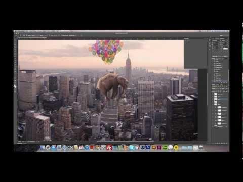 DMalou - Flying Elephant - #Photoshop CS6