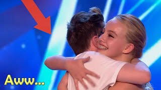 Most INSPIRING TEENAGE COUPLE on Got TALENT? SEE WHAT HAPPENS...