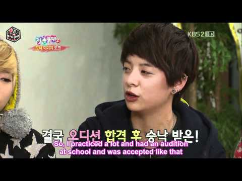 [HD] Amber father did not allow Amber to join Korea Girls Group ?