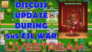 *LIVESTREAM* Update Discussion During TH12 5V5 ESL DreamHack Ladder War