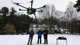 Tracking Drones with Weather Radar