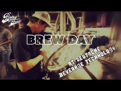 Brew Day at Deutsche Beverage Technology