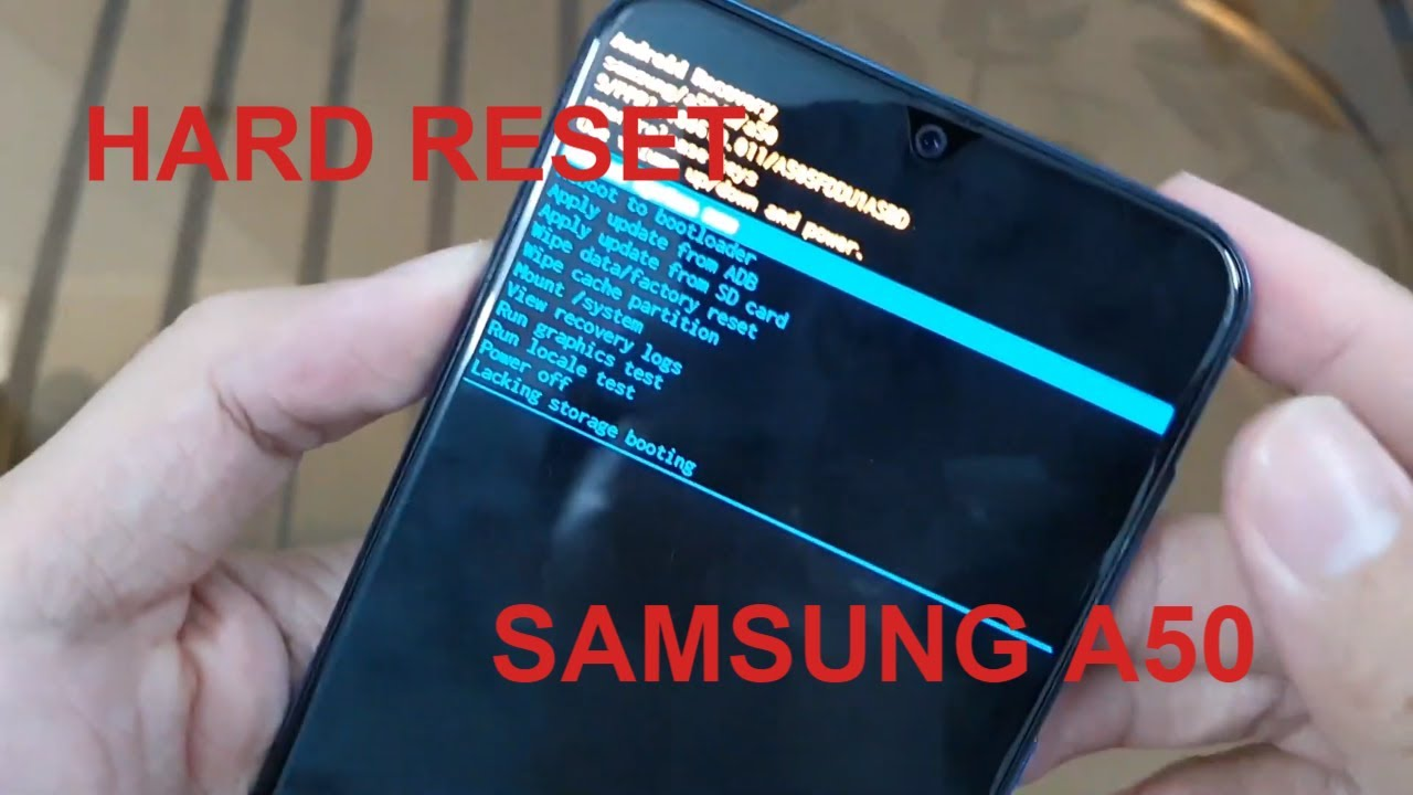 How to Hard reset Samsung Galaxy A28