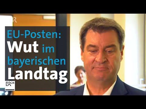 Postengeschacher Nach EU-Wahl: Viel Unzufriedenheit Im Bayerischen Landtag | Kontrovers | BR24
