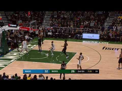 3rd Quarter, One Box Video: Milwaukee Bucks vs. Orlando Magic