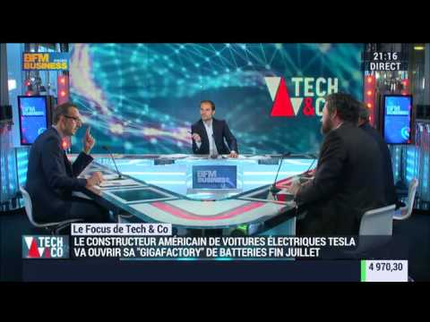 Tesla va ouvrir sa « gigafactory » de batteries fin juillet