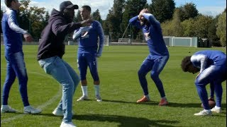 Eden Hazard Super Bowl Keepie-Uppie Skills