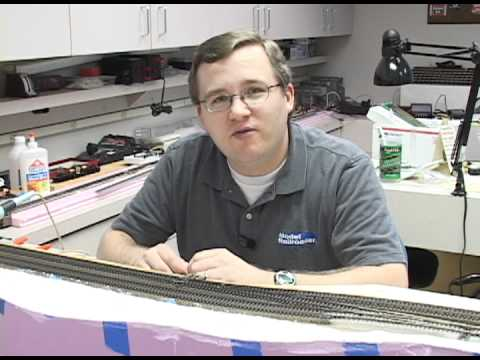 How to build a model railroad: How to lay model railroad track