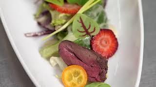 [RECIPE Les vergers Boiron] Rhubarb and honey vinaigrette