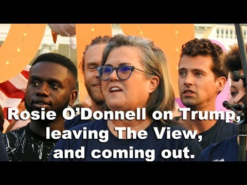 Rosie o donnell gay