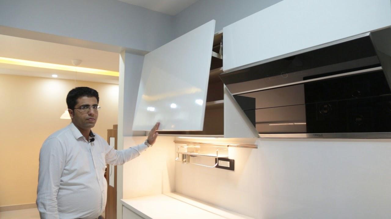 White Handleless Kitchen Powered By Hafele Blum Hettich From Interazzo Com