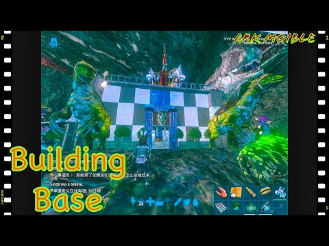 [Holly]    (Ark Mobile) BUILDING BASE.. S2ep16..