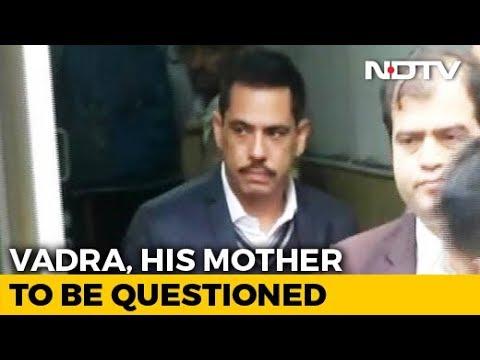 Robert Vadra In Jaipur For Questioning. Wife Priyanka Gandhi Reaches Too