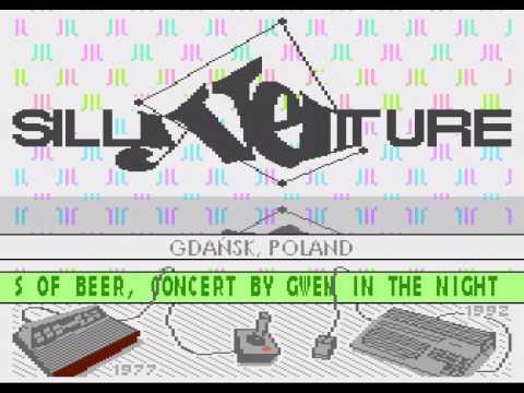Silly Venture 2k17 - Atari 8-bit invitro #1