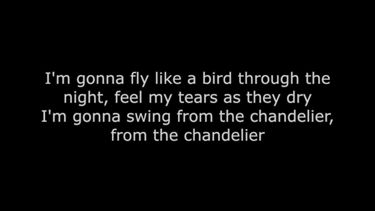 Chandelier Jasmine Thompson Lyrics