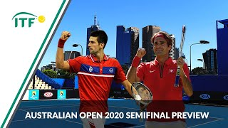 Roger Federer vs Novak Djokovic   Semifinal Preview   Australian Open 2020    ITF