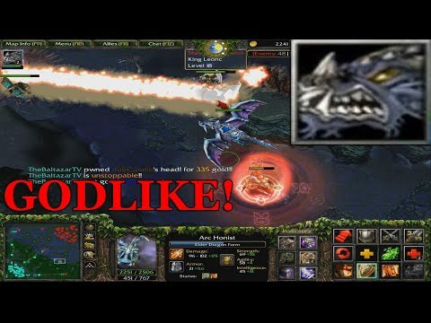 DOTA 1 - Dragon Knight/Davion GODLIKE With Pro Players | GAMEPLAY