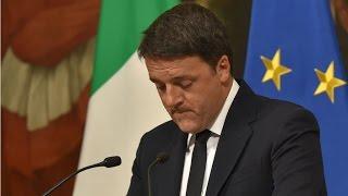 """Référendum italien : Matteo Renzi """"assume"""" sa défaite et annonce sa démission"""