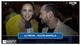 LA PREVIA -  NOCHE AMARILLA