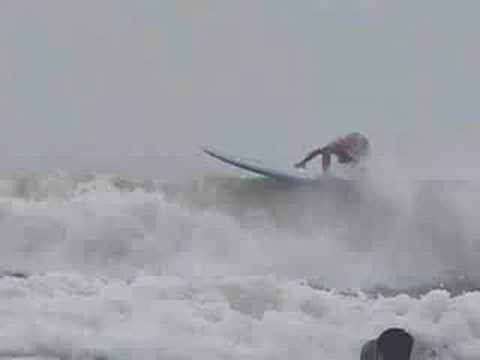 Surfing at Lori Wilson Park Florida