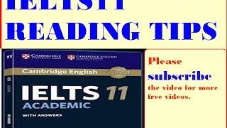 IELTS 11 Reading