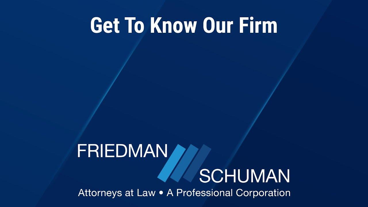 Montgomery County, PA Personal Injury Attorneys | Friedman