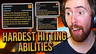Asmongold Reacts To The Top 10 Hardest Hitting Abilities in WoW's History - Hirumaredx