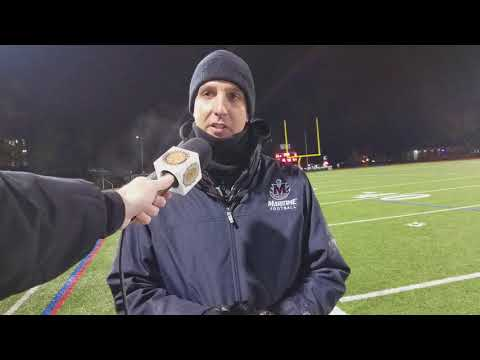 Maritime AD Post New England Bowl Game vs. WPI
