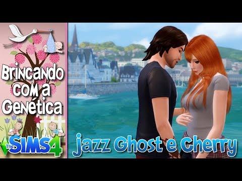 Como Seria Se O JAZZ GHOST E A CHERRY  Tivessem Filhos No The Sims 4??