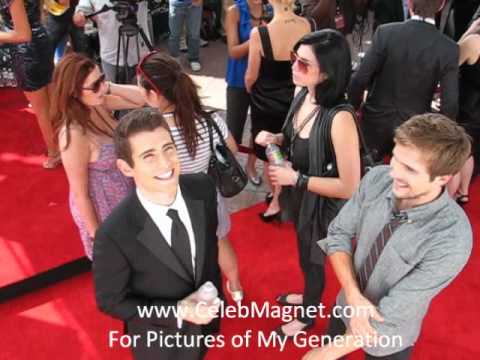 My Generation ABC  Red Carpet Julian Morris and Keir O'Donnell