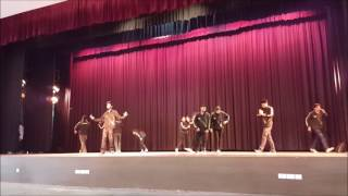 winning performance   jss   zealicon 16   group dance by team taal of akgec