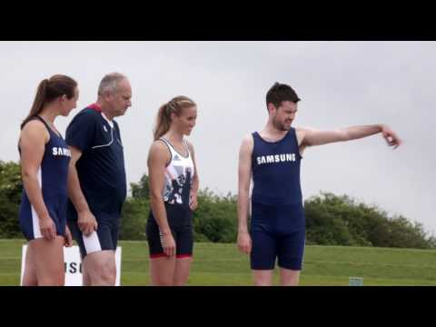 Samsung | School of Rio: Rowing with Sir Steve Redgrave and Helen Glover