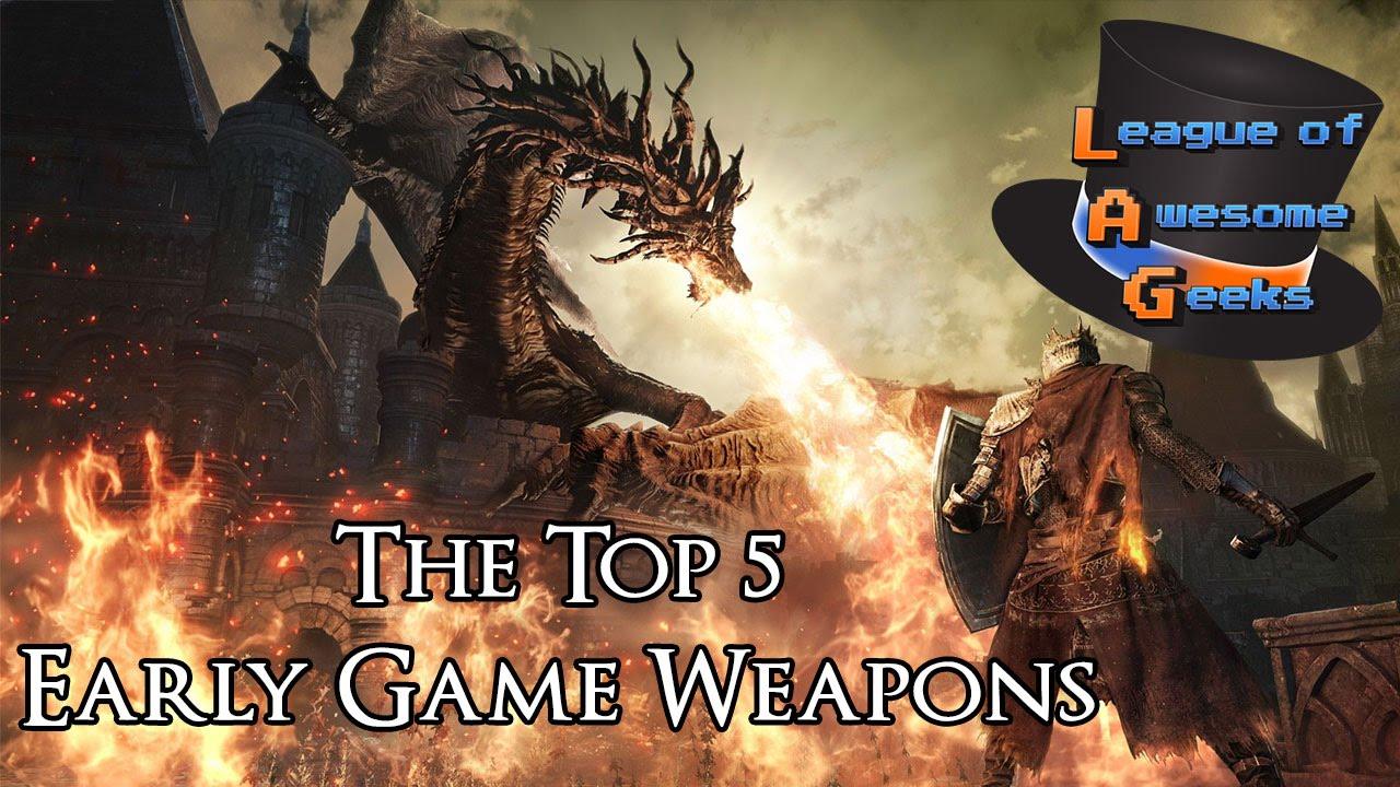 Best Starting Weapons | Dark Souls 3 - Gosu Noob