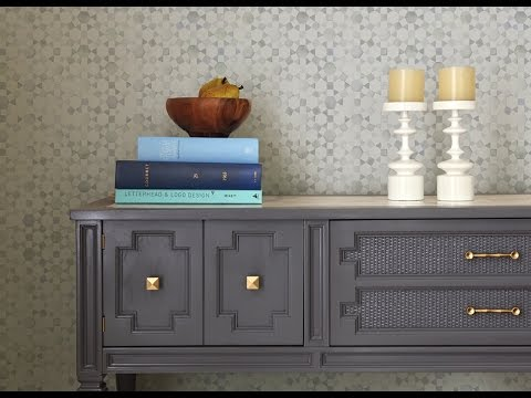 Grey Painted Furniture With Glaze Ideas