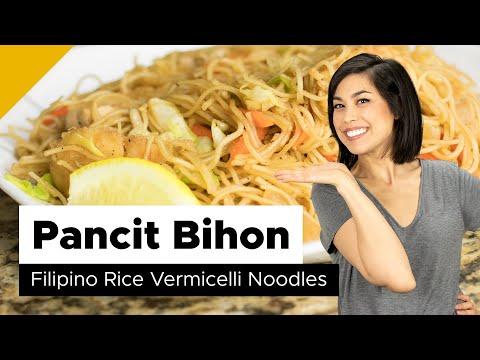 Pancit Bihon Recipe (Filipino Food)