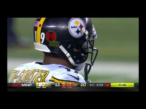 Juju Vicious Crack Back Block On Vontaze Burfict: Steelers Vs Bengals Week 13