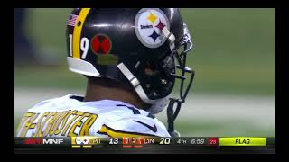 Juju vicious crack back block on Vontaze Burfict: Steelers vs Bengals Week 13