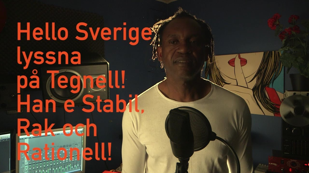 Dr Alban Hello Sverige Lyric Video Youtube