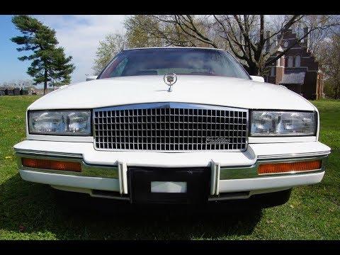 1986 cadillac eldorado 2 door coupe 33k white youtube 1986 cadillac eldorado 2 door coupe 33k white