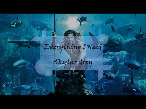 Everything I Need - Skylar Grey (Aquaman) ♫ 中英歌詞字幕