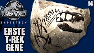 Jurassic World Evolution Deutsch #14 ► Erste T Rex Gene ◄| Let's Play Gameplay German