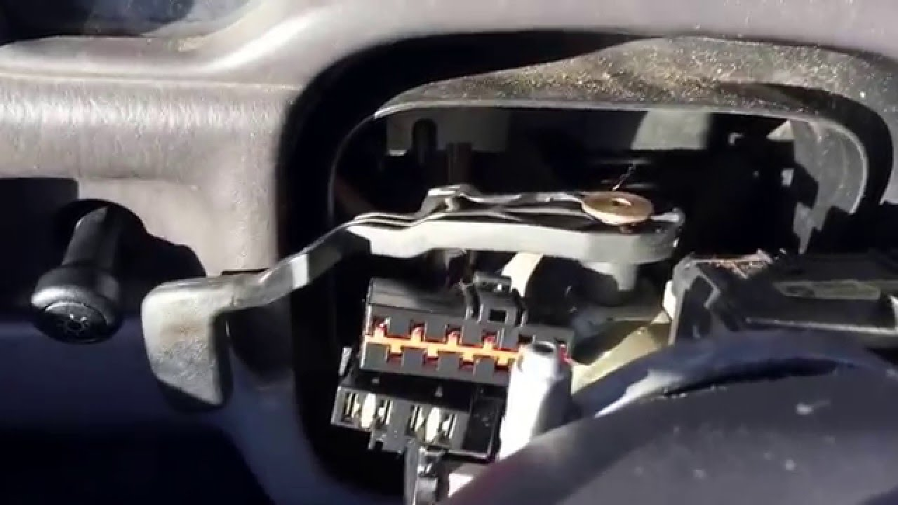 Jeep Cherokee 97 01 Turn Signal Switch Relay Youtube 2000 Dodge Neon Horn Wiring