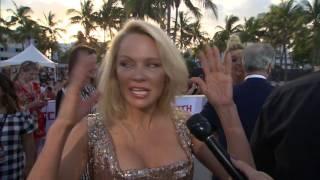 Baywatch Premiere   Pamela Anderson