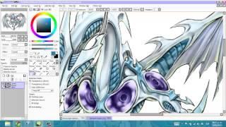 Speed Painting Stardust Dragon