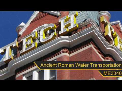 Water Transportation in Ancient Rome